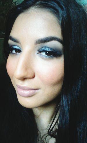 Grey Smokeyeye Photo Around You Fashion&love&beauty Make Up Getting Inspired