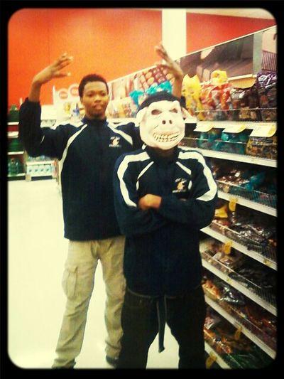 The Bros......badketball Team At Target After Da Mivies & Mall