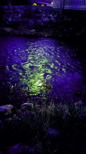 Riverside River Trippy Purple Green Scenery Park Utah Original Edits ori Original Photography Original Original Photo Favorite Place Night Night Time Awesome
