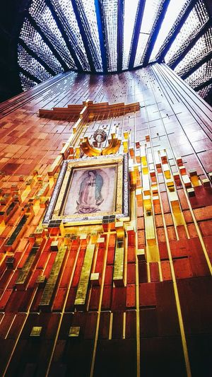 Beautiful Virgin Mary Historical Building Mexico Virgen De Guadalupe Virgin Mary México D.F. Bus Travel Touristic Mexico City Bright First Eyeem Photo Nuestra Señora De Guadalupe Religion Religious Architecture The Week On EyeEm