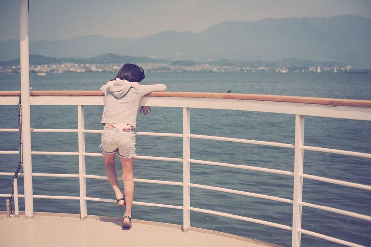 Biwako Cruise EyeEm Best Shots EyeEm Gallery Lake Life Is A Journey On A Boat Skylovers Sunny Day Taking Photo
