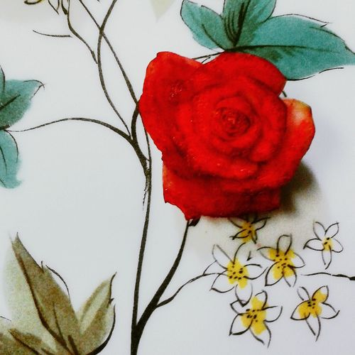Bok choy rose