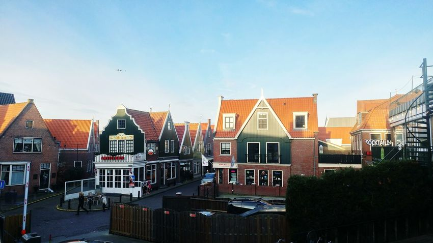 Volendam Netherlads Tourism 2017 Old Houses Architecture Travel