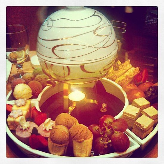 Haagen-Dazs chocolate hot pot~ Haagen Dazs