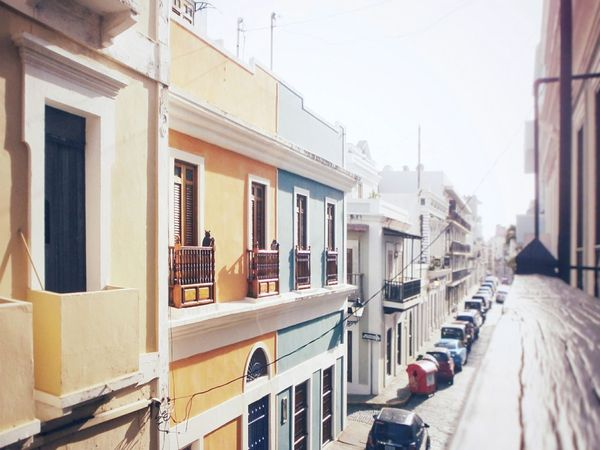 Old San Juan, Puerto Rico Architecture Outdoors City No People Day Urban Street Puerto Rico San Juan Old San Juan Old Buildings Old Architecture Spanish Style Spanish Architecture Caribbean Islandlife Window Windows_aroundtheworld Window Sill Down The Road  Looking Down From Above Balcony Balcony View Tropical Bright
