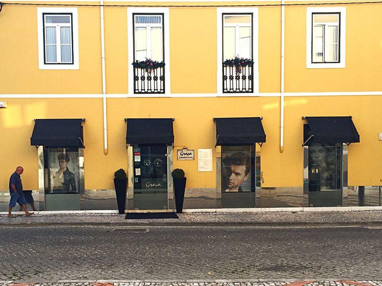 Graça Cabeleireiro Architecture Facade facade building windows door IPhoneography Iphoneonly