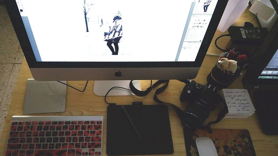 Offday still Working Editing Photography Photo