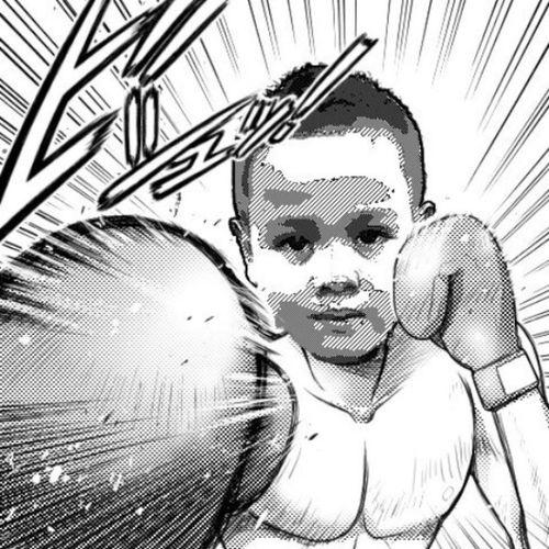 Little boxer...