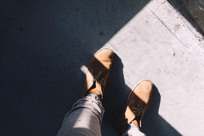Harshlight Feet Shoes VSCO Perspective