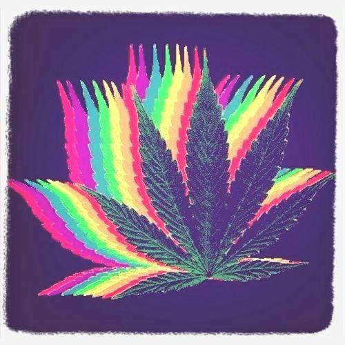 Enjoying Life Hi! Relaxing Art & Marijuana