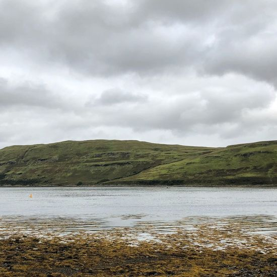 Carbost, Isle of Skye Skye Isle Of Skye Still Rough Gray Grey Scotland Uk Carbost Cold Cloudy Bay Sea Ocean Cloud - Sky Sky Water Beauty In Nature Tranquility Tranquil Scene Scenics - Nature Nature Day No People Land Non-urban Scene Environment Idyllic Beach Outdoors