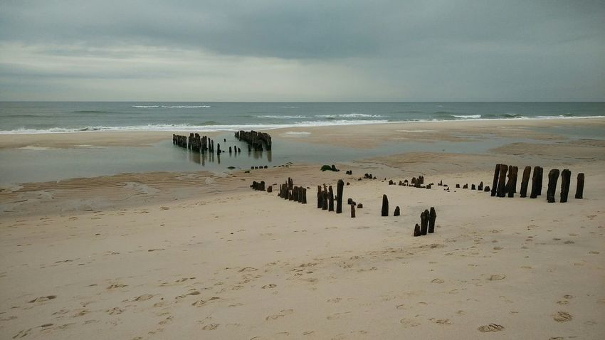 The Past. · Rantum Sylt Germany Island Nordsee Sea Ocean Strand Beach Silence Quietude Mystery Wonderful Colors Beautiful Life
