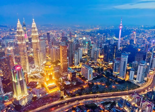 Kuala Lumpur city centre Sunset View Travel Destinations Beautiful Landscape Travel Aerial Shot Aerial Photography Getty Images EyeEm Selects EyeEm Best Shots Malaysia Dronephotography City Cityscape Urban Skyline Illuminated Skyscraper Modern Aerial View High Angle View Sky Architecture Financial District  Tourist Attraction  Downtown District Tower Skyline Office Building Office Building Exterior