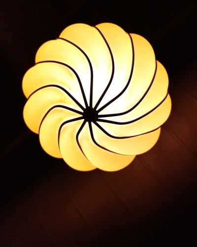 Garlic light Lighting Decoration Restaurant Decoration Modern Interior Illuminated Spiral Pattern