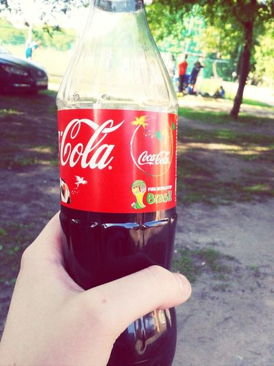 After Training Soccer Life Coca Cola Taking Photos