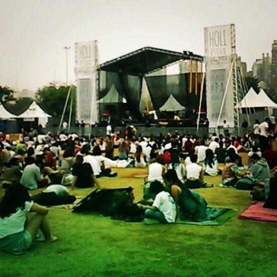 Inicio do Holi2014 SP Festivaldascores