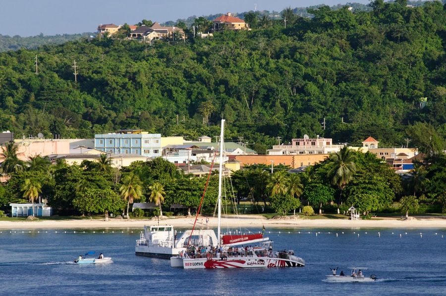 Water Sea Transportation Beach Palm Tree Travel Destinations Ocho Rios Jamaica Jamaica