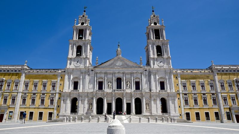 Architecture Building Exterior Built Structure Church Convent Culture Façade History Mafra Old Outdoors Place Of Worship Religion Spirituality Symmetry