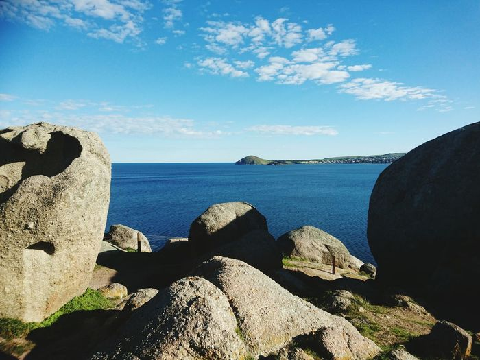 Granite Island ... Victor Harbor Granite Nature Island Explore Walking Around Stone Frame