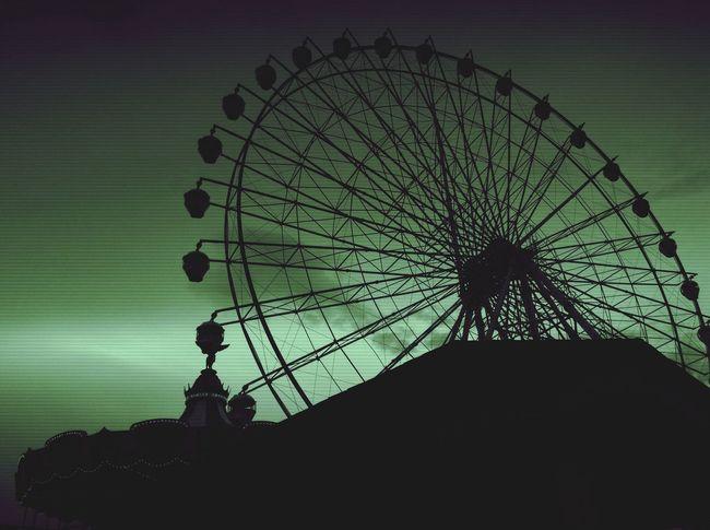 Tagaytay Skyranch Ferris Wheel Scenery