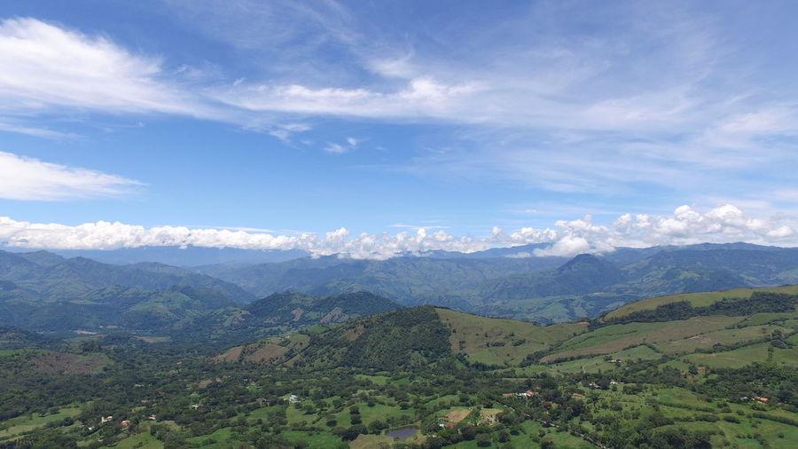 Mountain Scenics Sky Tranquility Cloud - Sky RHG Hinestroza Burucuca Veneciaantioquia Rhgdrone