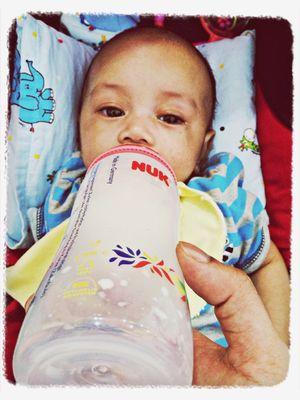 Baby wants milk