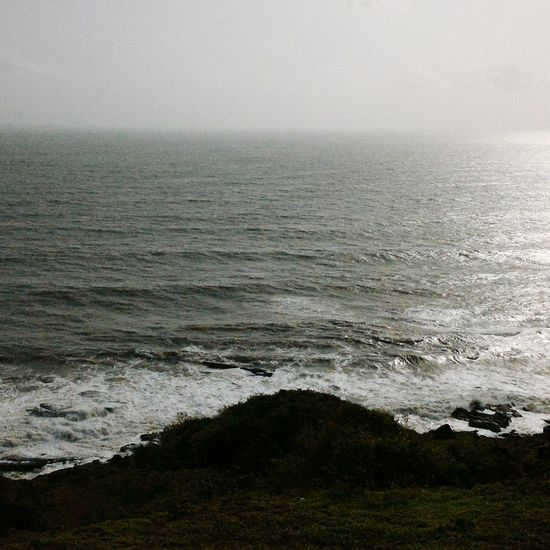 View from the Aguada Fort cliff