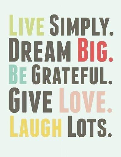 Live Life.