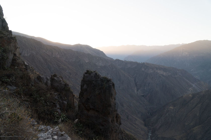 Colca Canyon Highlights Colca Canyon Peru Southamerica Canyon Landscape Nature Mountain Sky Environment Beauty In Nature Scenics - Nature Rock Mountain Range No People Tranquil Scene Scenery Tranquility Land Clear Sky Outdoors Remote Mountain Peak Non-urban Scene Day Height Formation High