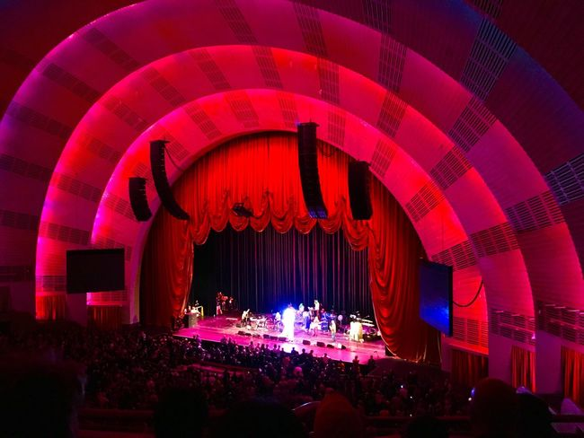 Radio City Music Hall Architecture New York City IPhoneography Red Iphone6s Manhattan
