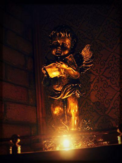 рождество свеча