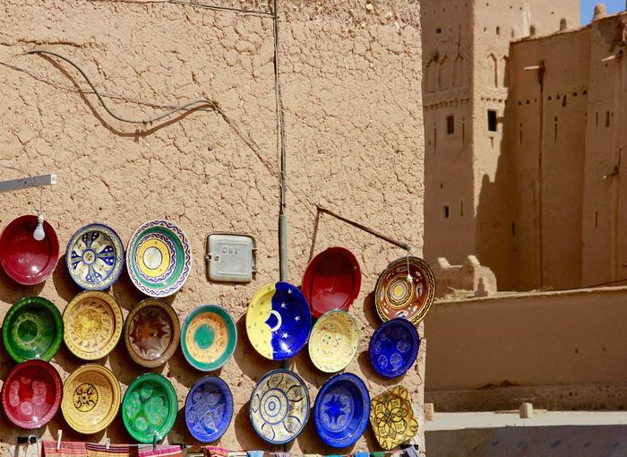 Maroc Travel Plate Arabic Popular Photos OpenEdit Trip Colorful Simple Traditional
