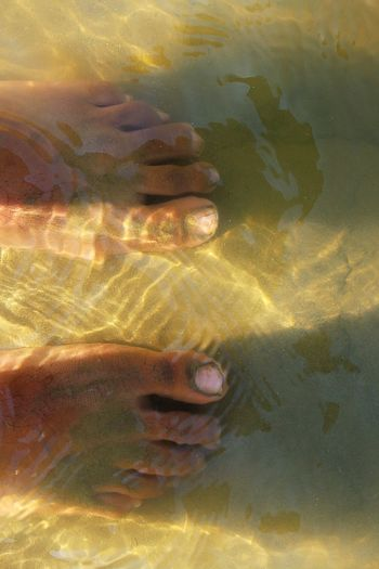 Full Frame Gold Colored No People Backgrounds Water Waterfront Water Reflections Water Reflection Feet In Water Feet In The Sand Feet In Sand Feet In The Water Feet In Water At Beach Riverside Photography River Riverfront
