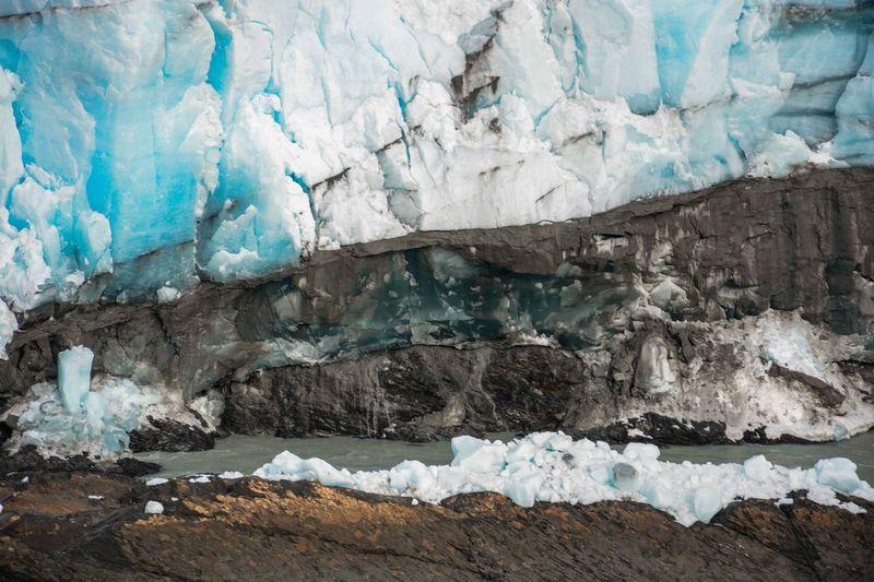 Moreno Glacier By Sea