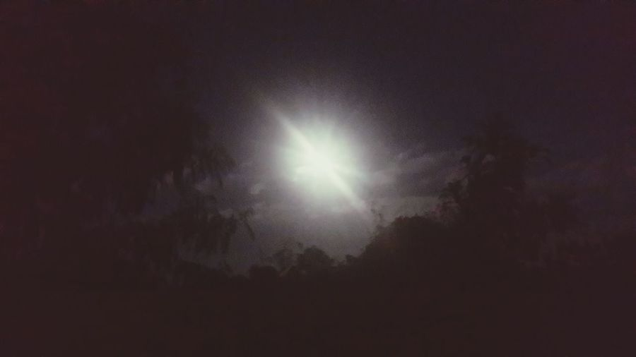 ดวงจันทร์ Night Astronomy Beauty In Nature Nature Tranquil Scene Space No People Outdoors Sky Solar Eclipse Black Background