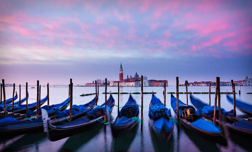 Gondolas at