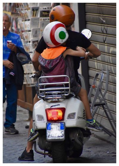 """Neapel 🏢🏤✨ Italy❤️ Bella Italia """"Neapel Sehen Und Sterben… Frei Nach J.W.v.Goethe"""" Real People Helmet Men Motorcycle Transportation Standing Day Headwear Land Vehicle Full Length One Person Outdoors Scooter Architecture People Mobility In Mega Cities"""
