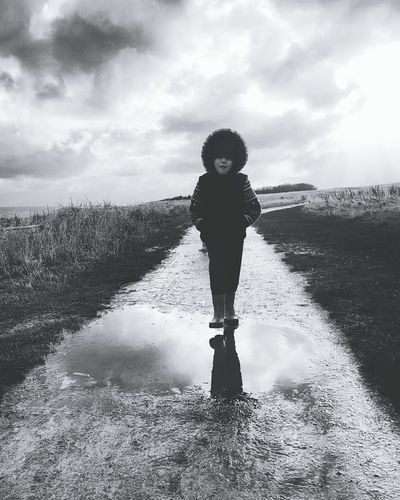 Children Only Child One Person One Boy Only Childhood People Outdoors Cloud - Sky Sky Water Day