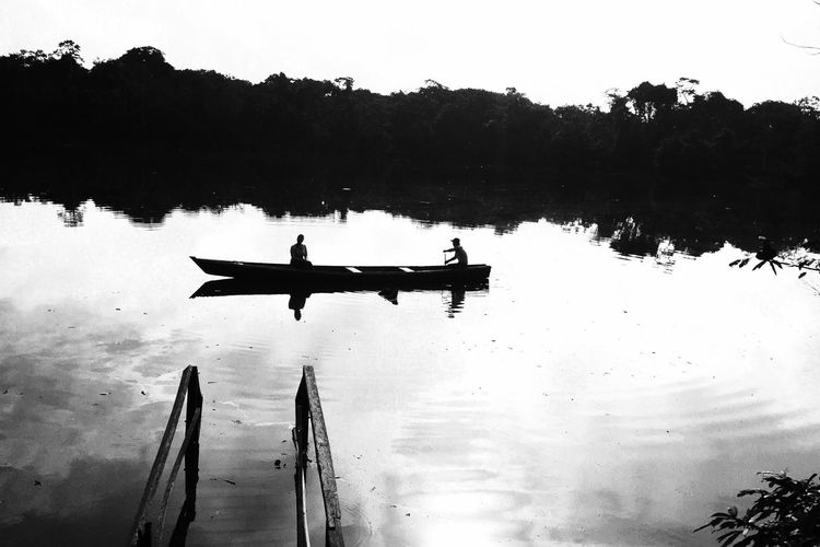 Telling Stories Differently Jungle Trekking Love Is In The Air Amazon River Monochrome Photography Chance Encounters waiting game Connected By Travel