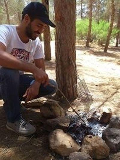 Libya Barbecue Nice Day