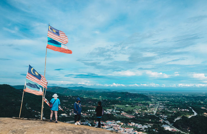 """ Proud to be Malaysian"" Adult Adults Only Beauty In Nature Cloud - Sky Cultures Day Eeyem Photography Flag Flags Full Length Independence Day Lightroom Malaysia Men National Icon Nature Nikonphotography Outdoors Patriotism People People Photography Real People Sky Togetherness"