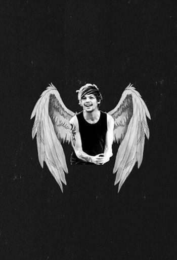 My Angel Louistomlinson Angel Onedirection Louis Tomlinson The Best One <3 Boy Love