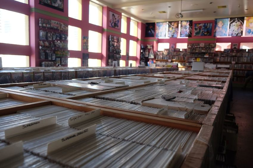 No People Indoors  Comic Comic Books