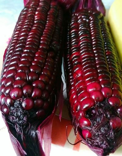 corn Corn Purple Color Jucie Fruit Vetgetable Red Close-up Food And Drink