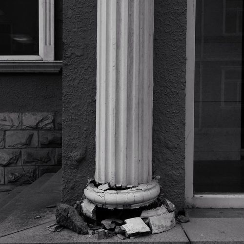 Architecture Built Structure Building Exterior No People Day Wall - Building Feature Building Outdoors Architectural Column Old Wall Nature Pipe - Tube Window Abandoned History Weathered Religion Damaged Absence