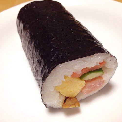 Sushi WSW Lawson 節分 Setsubun ローソン 恵方巻 西南西 Westsouthwest Rriceroll 海鮮恵方巻 恵方 Ehoumaki