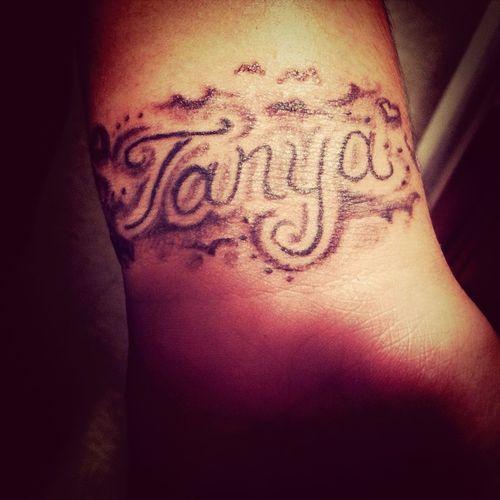 First Tattoo ' <3