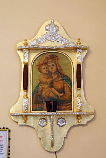 Beatified Cardinal Alojzije Stepinac,Krasic sanctuary,his favorite picture of Madonna with little Jesus,Croatia,Europe,14 Alojzije Cardinal Stepinac Catholicism Christianity Croatia Eu E ELe... Europe Jesus Christ Krasic Madonna Stepinac Stepincevo Beatified Birth Close-up Culture History Indoors  Inmemoriam Memorial Museum Religion Sanctuary  Spirituality