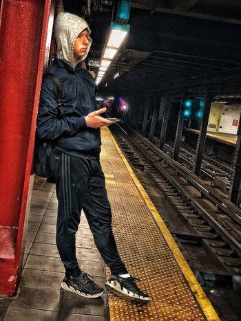 this morning Subway Public Transportation MTA Soulz~