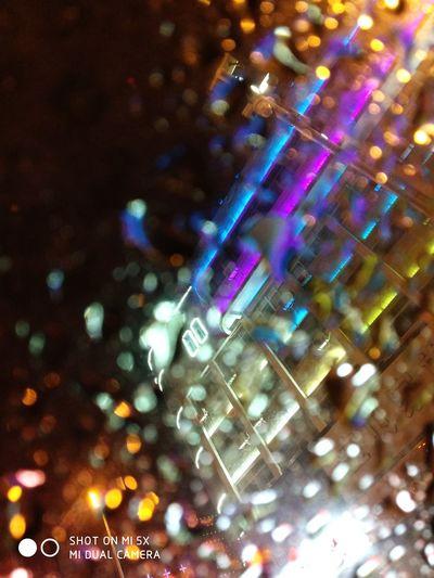 Rainy Night Window View Night First Eyeem Photo